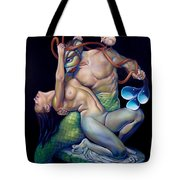 Pygmalion And Galatea Tote Bag by Patrick Anthony Pierson