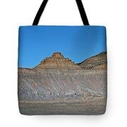 Pyramid Mountains In Emery County Utah Tote Bag