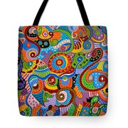 Quantum Strands Tote Bag