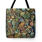 Quarry Rocks Through Water Tote Bag