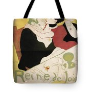 Queen Of Joy Tote Bag