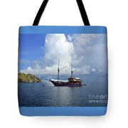 Silent Diving Bay On The Coast Of Sulawesi Tote Bag
