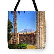 Quiet Vesuvius Tote Bag