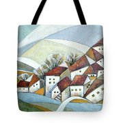 Quiet Village Tote Bag