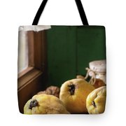 Quince And Honey Tote Bag