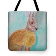 Rabbit Illustration Tote Bag
