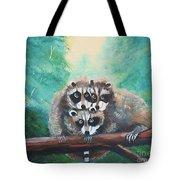 Racoons Tote Bag