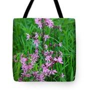 Ragged Robin Tote Bag