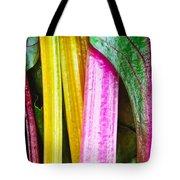 Rainbow Chard Tote Bag