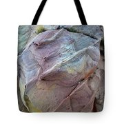 Rainbow Colored Sandstone In Valley Of Fire Tote Bag