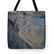 Rainbow Wave Of Sandstone In Valley Of Fire Tote Bag