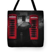 Rainy Day In Manchester Tote Bag