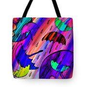 Rainy Day Love Tote Bag