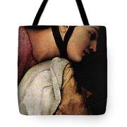 Raphael Madonna Dell Impannata  Tote Bag