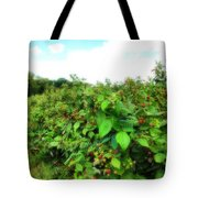 Raspberry Fields 2  Tote Bag