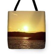 Raumanmeri Sunset Tote Bag