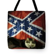 Rebel Cat Tote Bag