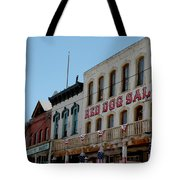 Red Dog Saloon Tote Bag