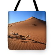 Red Dune Tote Bag