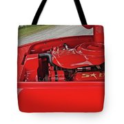 Red Engine Tote Bag
