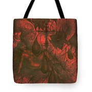 Red Hell  Tote Bag