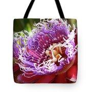Red Lotus Tote Bag