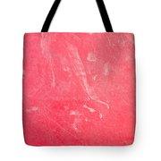 Red Plastic Tote Bag