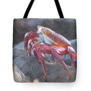 Red Rock Crab Tote Bag