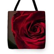 Red Rose Macro 6 Tote Bag