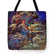 Red Sea Turtle Tote Bag
