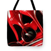 Red Stylish Accessories Tote Bag
