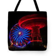 Red Wheels Tote Bag