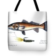 Redfish And Cave's Wobbler Tote Bag