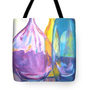 Reflections In Glass Tote Bag