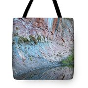 Reflections In Oak Creek Canyon Tote Bag