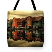 Reflections Of Groningen Tote Bag