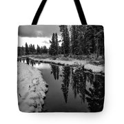 Reflections On Obsidian Creek Tote Bag