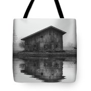 Reflective Morning Tote Bag