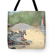Reggae Beach Tote Bag