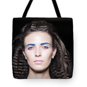 Rehearsals On The Catwalk Of London Fashion Week 2015 Tote Bag