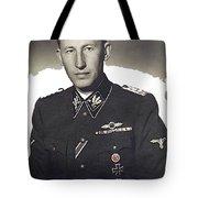 Reinhard Heydrich Circa 1940 Color Added 2016 Tote Bag