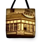 Restaurant Sign In Brussels Tote Bag