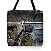 Retro Bike Tote Bag by Joana Kruse