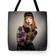 Retro Style Fashion Tote Bag