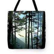 Riding The Warm Currents Tote Bag