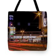 Riga By Night Tote Bag