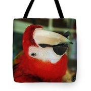 Ringo The Ruby Macaw Tote Bag