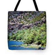 Rio Grande Gorge  Tote Bag