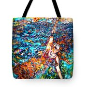 Rising To The Surface Like A Last Breath Last Scream Tote Bag