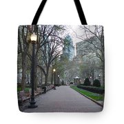 Rittenhouse Square In The Morning Tote Bag